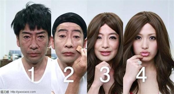 Make up quả thực là một thứ vô cùng vi diệu!
