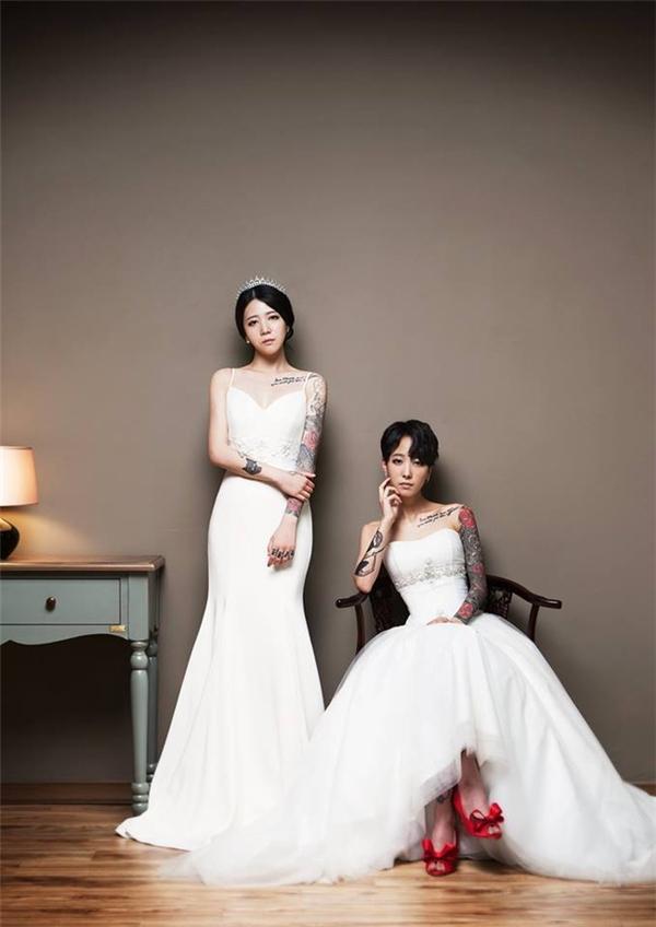 Cặp đôi Hana và Kyung Eun được xem là những người truyền động lực cho các cặp đồng tính ở Hàn Quốc.