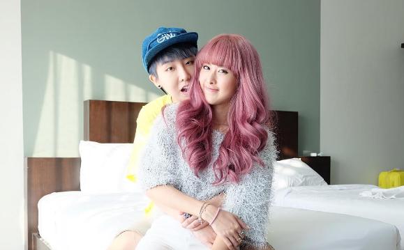 Qwaa và Doughnutt là cặp đồng tính nữ được yêu mến nhất Thái Lan.