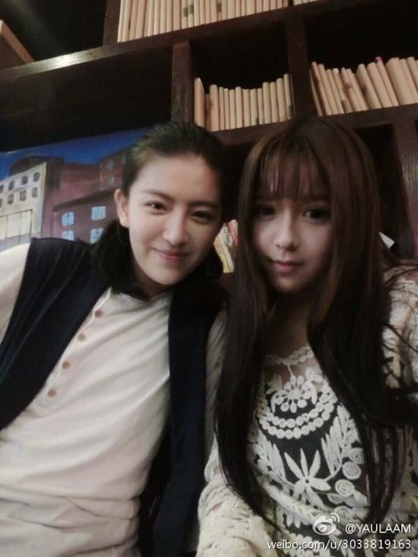 """Cặp đôi Yaulaam và Tiểu Nãi Bình Nhi đã khiến cư dâ mạngTrung Quốc """"dậy sóng"""" sau khi công khai yêu nhau."""