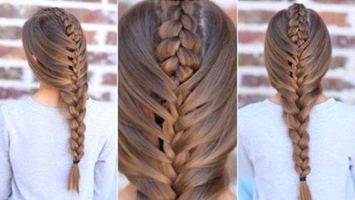 Một số kiểu tóc mà các nàng có thể học