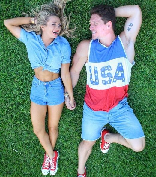 Cặp đôi phòng gym khiến bạn định nghĩa khác về lãng mạn trong tình yêu