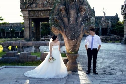 Bộ ảnh cưới được đôi trẻ chụp tại Tp. Đà Nẵng.