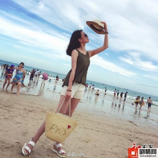 Lam Tiểu Tây có chiều cao lí tưởng 1m70.