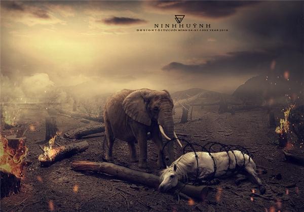 Những con vật tội nghiệp, chúng đã gây ra tội tình gì mà giờ này phải hứng chịu thảm cảnh tàn khốc như thế? Nếu luật nhân quả là có thật thì chẳng phải giờ này con người đã bị tàn diệt hết rồi sao?