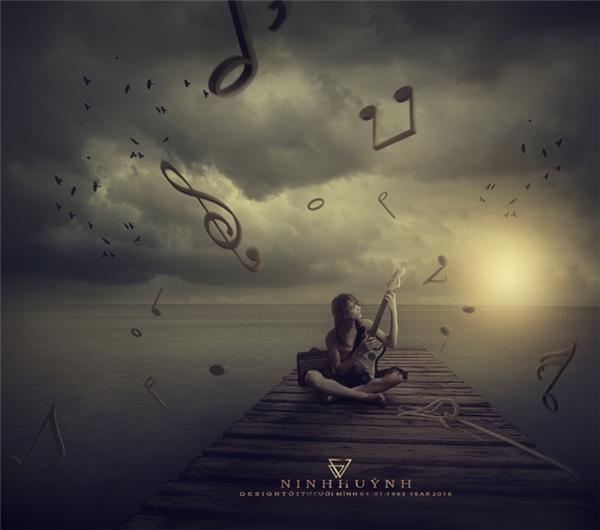Cuộc sống giống như một bản nhạc, có cảm hứng thì mới sáng tác được.