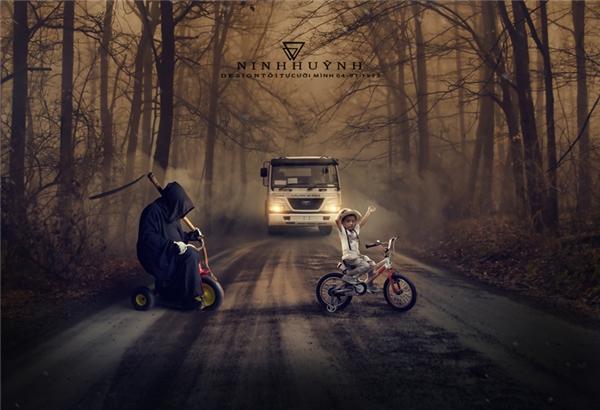 Thần chết không tha cho một ai cả, dù đó có là trẻ con. Hãy bảo vệ con bạn bằng cách giúp các em nâng cao ý thức an toàn giao thông.