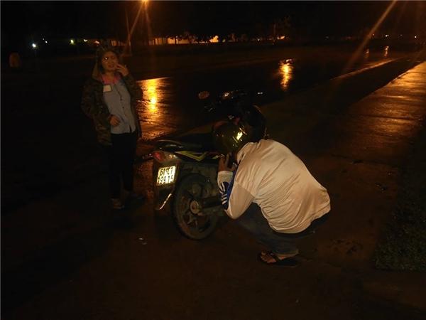 Tác giả bài viết lấyđiện thoại gọi Câu Lạc Bộ SBC Biên Hòa nhờ hỗ trợ