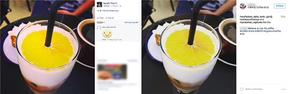 Bức ảnh Thúy Vi đã đăng thực chất lại là hình ảnh của một ai đó trên Instagram được đăng từ 53 tuần trước.