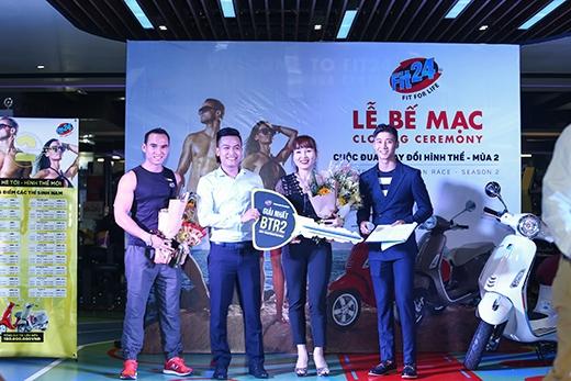 Cuộc thi kết thúc với chiến thắng của chị Trần Thị Bích Thuý và anh Võ Minh Tín. Người chiến thắng sẽ nhận được giải thưởng là 01 chiếc xe Vespa Primavera.