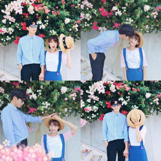 Bạn trai của Nhã Thanh là một anh chàng phi công kiêm người mẫu điển trai.