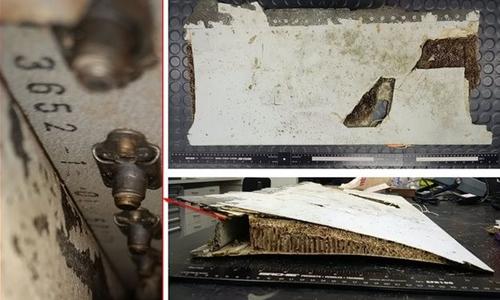 Malaysia xác nhận tìm thấy mảnh vỡ cánh máy bay.