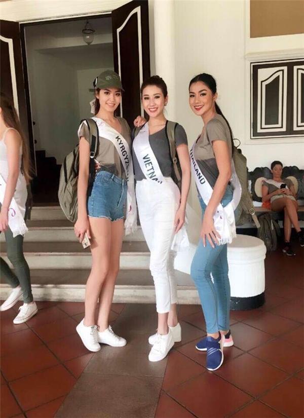 Từ đầu cuộc thi đến nay, hình ảnh của Bảo Như liên tục được cô cập nhật trên trang cá nhân khiến khán giả quê nhà vô cùng thích thú vì dễ dàng theo dõi các hoạt động đang diễn ra trong khuôn khổ Hoa hậu Liên lục địa 2016.