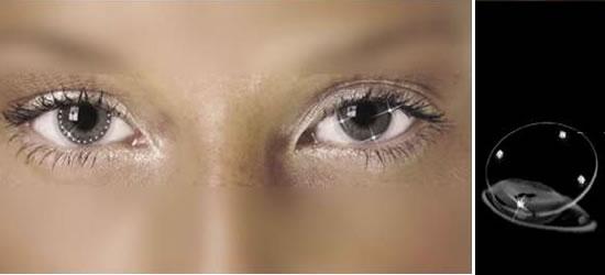 """Sau khi trào lưuđổi màu mắt bằng contact lens bị cho là đã """"lỗi thời"""", giới trẻ chủ yếu ở Hà Lan và Ấn Độ bắt đầu """"gây sốt"""" khi trang điểm cho mắt bằng các vật nhỏ kim loại quý."""