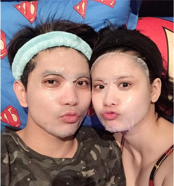 Hình ảnh hạnh phúc của hai vợ chồng Tim và Trương Quỳnh Anh khiến nhiều khán giả ngưỡng mộ. - Tin sao Viet - Tin tuc sao Viet - Scandal sao Viet - Tin tuc cua Sao - Tin cua Sao