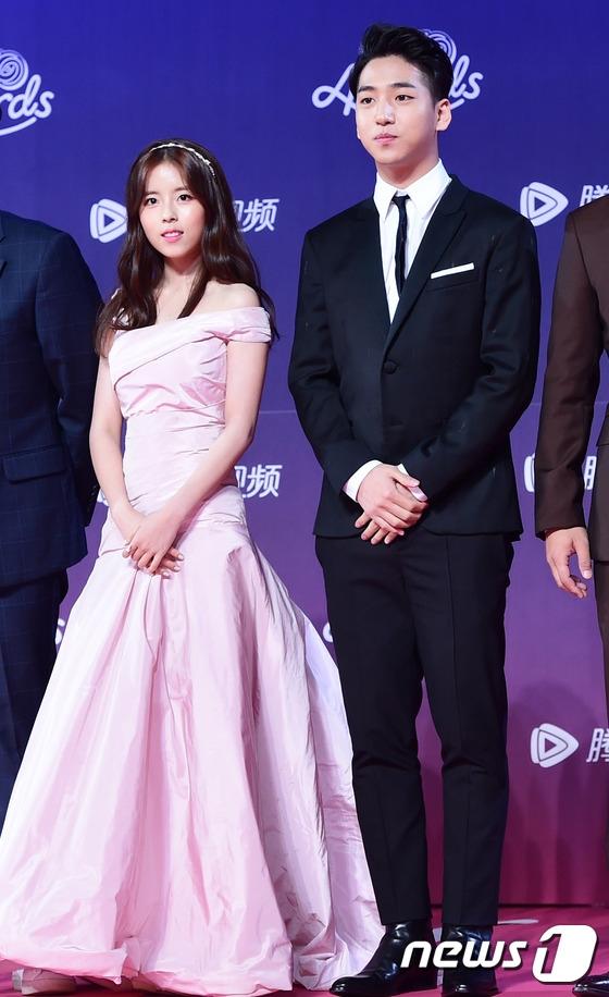 Baro (B1A4) và Dohee