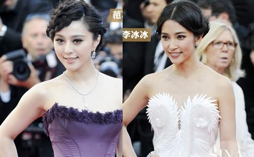 Lần xuất hiện tại Liên hoan phim Cannes 2011, hai người đẹp đã khiến truyền thông bối rối khi không biệt được ai với ai.