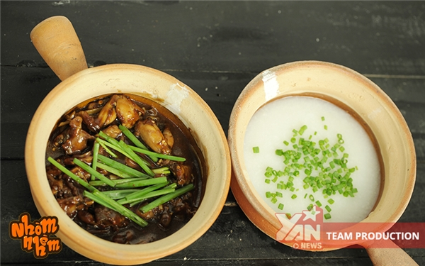 cách làm cháo ếch singapore, công thức nấu cháo ếch