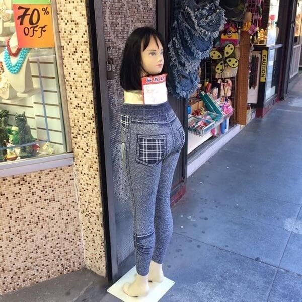 Đây là quần có thể mặc mà không cần áo cơ à?