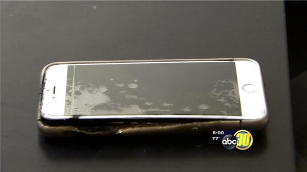 iPhone 6 Plus nổ kinh hoàng dù dùng sạc chính hãng