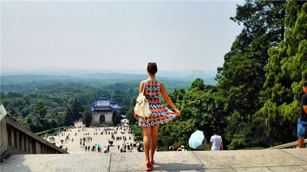 Hình ảnh đẹp của du kháchtại Nhà tưởng niệm Tôn Trung Sơn. (Ảnh: Instagram)