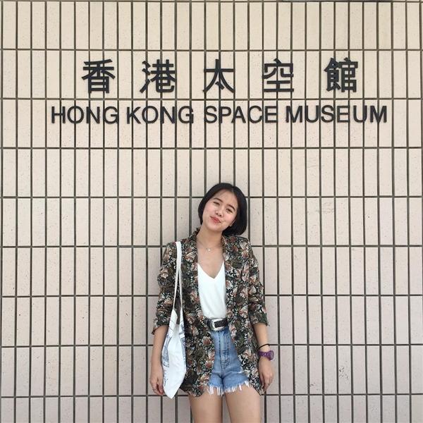 """Một số góc """"diễn sâu"""" tại Bảo tàng Không gian Hong Kong.(Ảnh: Instagram)"""