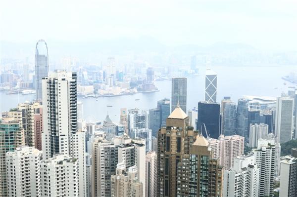 Toàn cảnh Hong Kong khi ngắm từ đỉnh Galleria.(Ảnh: Internet)
