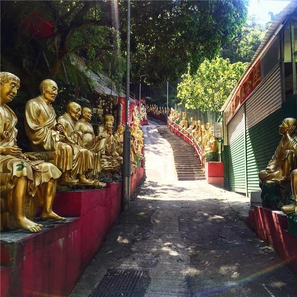 Một số hình ảnh đẹp nên thơ của Thiền viện.(Ảnh: Instagram)