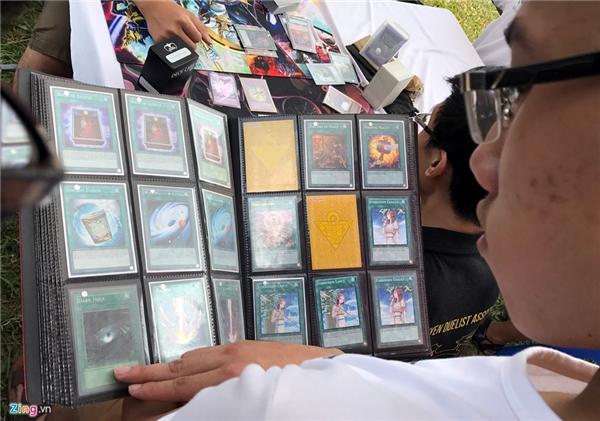 Nhờ sự yêu mến bộ truyệnYu-Gi-Oh, giới trẻ dần dần thích thú và tham gia trò chơi đấu bài magic