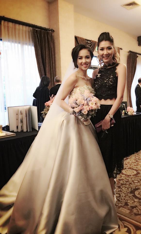 Cựu người mẫu Ngọc Quyên cũng vừa chia sẻ hình ảnh đi dự tiệc cưới của Đinh Ngọc Diệp và đạo diễn Victor Vũ. - Tin sao Viet - Tin tuc sao Viet - Scandal sao Viet - Tin tuc cua Sao - Tin cua Sao