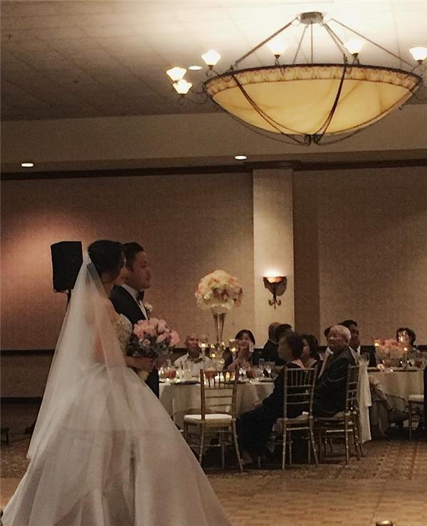 Tiệc cưới tại Mỹ của Đinh Ngọc Diệprất kín đáo nên đến tận khi đã diễn ra mọi người mới biết. - Tin sao Viet - Tin tuc sao Viet - Scandal sao Viet - Tin tuc cua Sao - Tin cua Sao