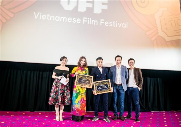 Trần Tuấn Lương và Diễm My 9X tham dự Vietnamese Film Festival tại Úc vừa qua.