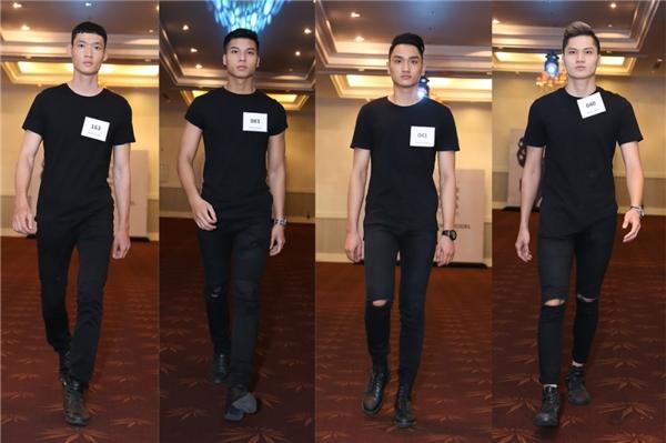 Dù là chàng thơ mới của Đỗ Mạnh Cường nhưng Huy Quang vẫn đến tham gia casting như người mẫu bình thường. Ngoài ra, chàng mẫu trẻ Đình Lĩnh cũng là cái tên gây ấn tượng mạnh với nhà thiết kế Đỗ Mạnh Cường.