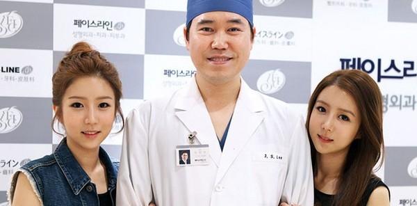 Đây chính là vị bác sĩ đã phẫu thuật thẩm mĩ cho hai chị em.