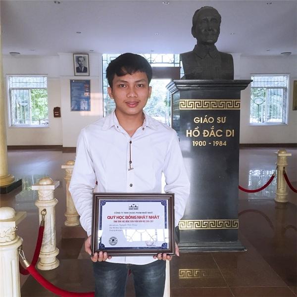 Nguyễn Tiến Dũng – Thủ khoa trường Đại học Y Hà Nội năm 2016 với số điểm 29.5.