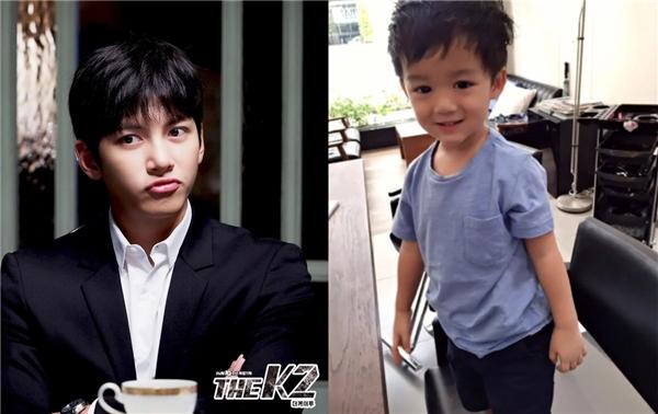 Nhiều cư dân mạng nhận xét cậu bé trông điển trai y hệt như thần tượng Ji Chang Wook của mình.
