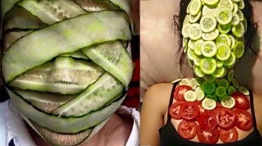 Tiêu chí đắp mặt nạ của chị em là: không thể để lọt một khe hở nào.