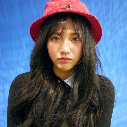 Vẻ trẻ trung xinh xắn của Jung Hyang được các bạn trẻ yêu mến.