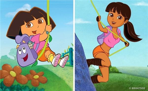 """Ắt hẳn các chàng trai sẽ dễ dàng """"đổ đứ đừ"""" vì một cô nàng cá tính và thích phiêu lưu như Dora.(Ảnh: Bright Side)"""