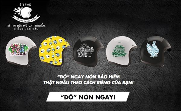 """Khi sao Việt cũng phải """"mê tít"""" với mũ bảo hiểm chuẩn ngầu - Tin sao Viet - Tin tuc sao Viet - Scandal sao Viet - Tin tuc cua Sao - Tin cua Sao"""