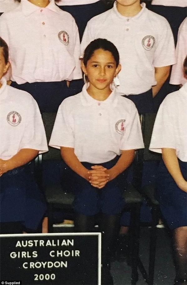 Ảnh chụp Elysa vào năm 2000.(Ảnh: Daily Mail)