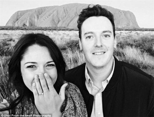 Cặp đôi bắt đầu hẹn hò vào cuối năm trung học.(Ảnh: Shot From The Heart Photography)