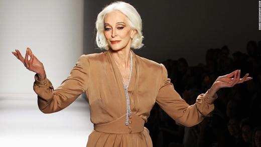 Vẻ đẹp của bà từng là nguồn cảm hứng sáng tạo cho các nhà thiết kể nổi tiếng.