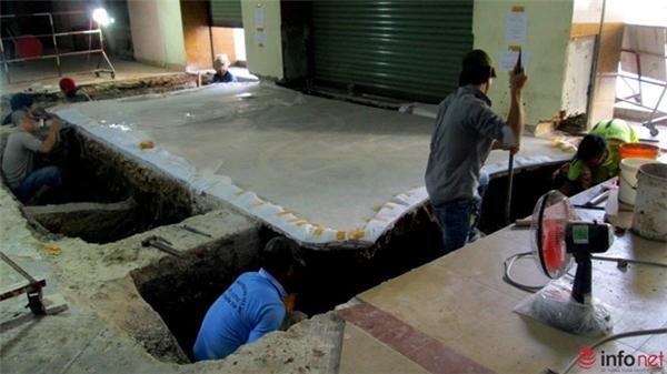 Bằng cách này các thảm gạch được bóc tách đúng ý đồ, kích thước và tỷ lệ hư hỏng rất thấp.