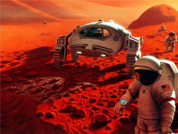 Sao Hỏa có rất nhiều điểm tương đồng với Trái Đất. (Ảnh: internet)