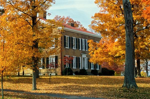 Bardstown, Kentucky: Thị trấn này có sự thay đổi về khí hậu và mùa rất rõ rệt, mùa hè thì nóng và xanh rợp bóng cây, còn mùa thu chuyển sang đông thì mát mẻ, đặc biệt sự thay đổi rõ rệt nhất chính là màu lá.