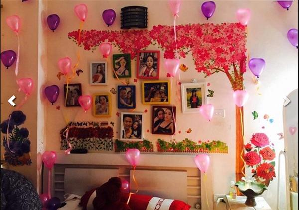 Tiệc sinh nhật lãng mạn được chàng trai kì công chuẩn bị cho người yêu.