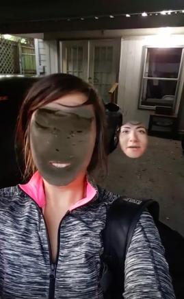 """Phải có """"một người thứ hai nào đó"""" trong khung hình thì chức năng đổi mặt mới hoạt động.(Ảnh: Internet)"""