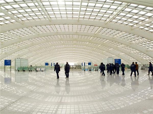 Quan cảnh choáng ngợp bên trong sân bay quốc tếBắc Kinh.