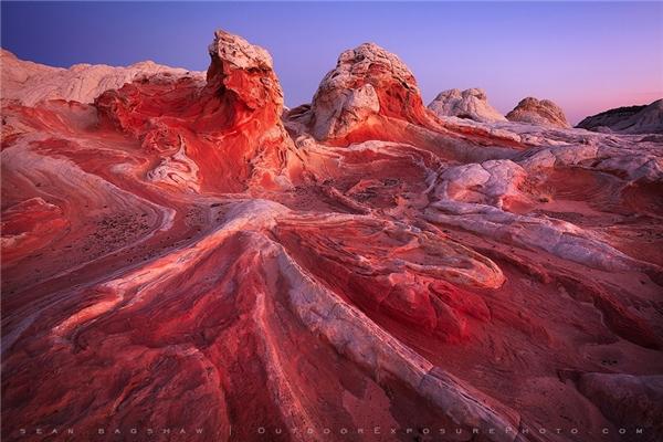 Sa mạc ở phía Bắc bang Arizona, Mỹ.